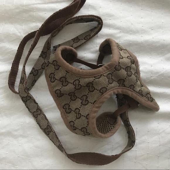 1bb827da4fb872 Gucci inspired dog harness with leash. M 596fd39fa88e7dc9e500624f