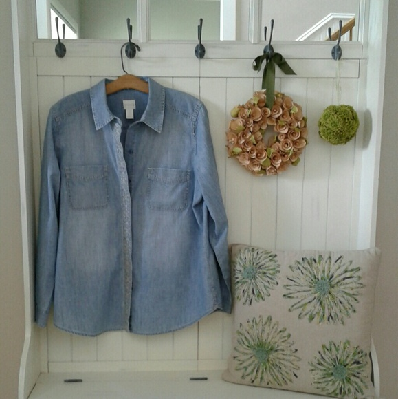 Chicos Denim Blouse 85