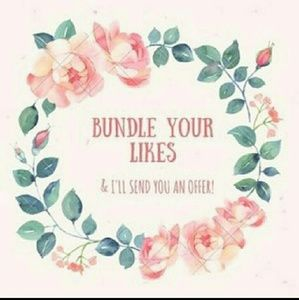 Other - Bundle your likes ill send you an offer :)
