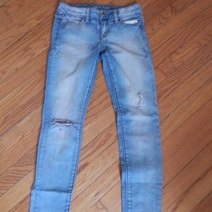 American Eagle Light Fade Jegging Jeans Sz 4