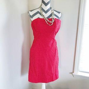 Red Crotchet WHBM Dress