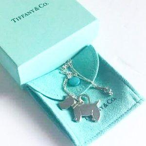 Tiffany & Co. Jewelry - Authentic Tiffany 925 Rare  Dog Charm Necklace