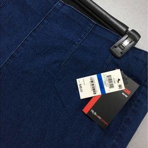 Jean Wash Color Style & Co Pull-On Denim Leggings