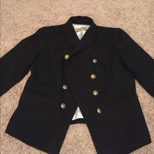 Banana Republic military inspired blazer.