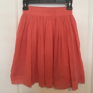 Banana Republic Coral Mini Skirt