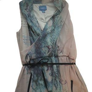 Vera Wang Embellished Dress