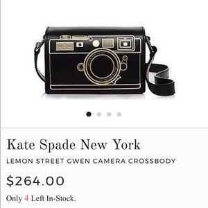 ♠️Kate Spade Camera Crossbody!! ♠️