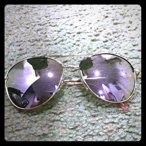 Accessories - Women mirror aviator sunglasses