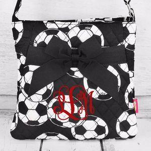 Handbags - Soccer Quilted Crossbody Bag (No Monogram)