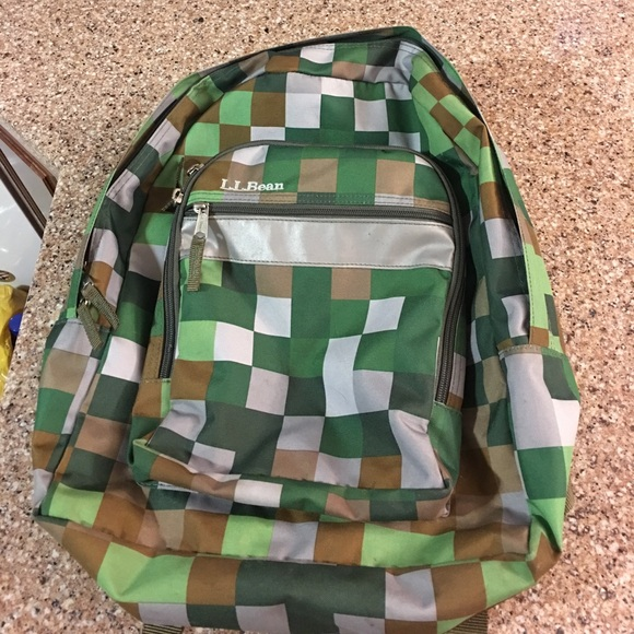 Magnificent L L Bean Green Pixel Minecraft Backpack Ocoug Best Dining Table And Chair Ideas Images Ocougorg