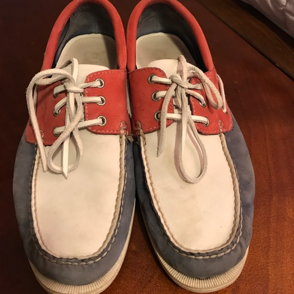 68 cole haan other cole haan white and blue