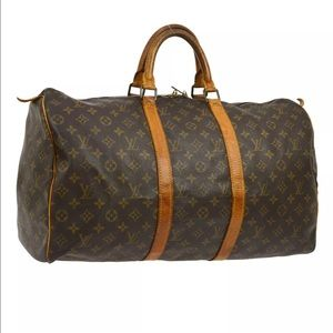 Authentic Louis Vuitton Keepall 50 Travel