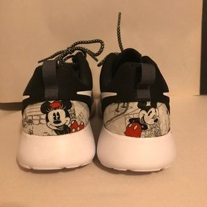 47189cbe428e nike Shoes - Disney Nike Roshe black custom sneakers