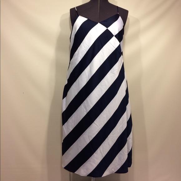 Banana Republic Striped Dress Plus Size NWT