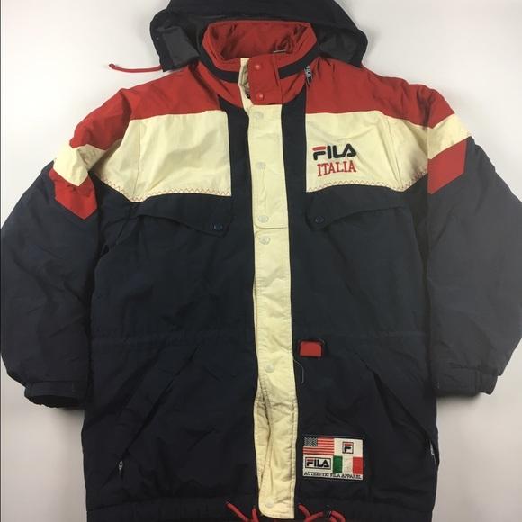 55d31f2de47d Fila Jackets & Coats | Vintage Italia Rare 90s Jacket Mens L | Poshmark