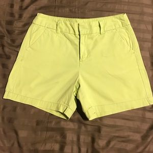 Merona Lime Green shorts