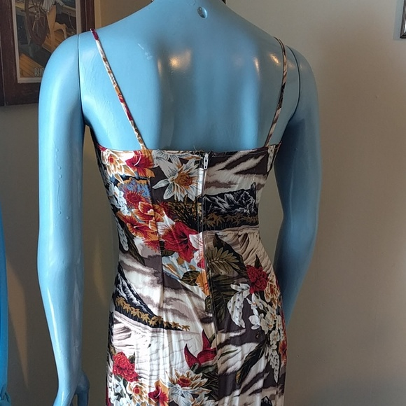Ultra Flirt Dresses - Vintage Hawaiian Maxi Dress