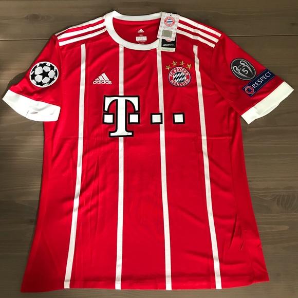 d9f5dc701 Bayern Munchen James  11 soccer jersey Adidas Home