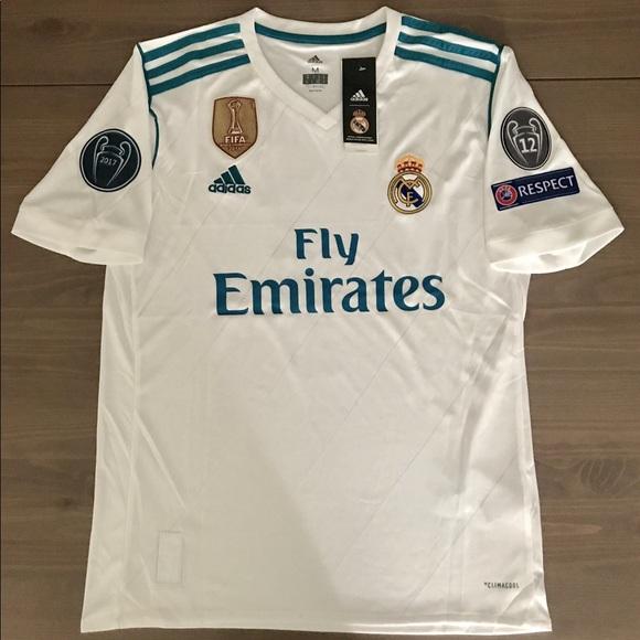b0ba6eebef8 adidas Shirts | Real Madrid Sergio Ramos 4 Soccer Jersey | Poshmark