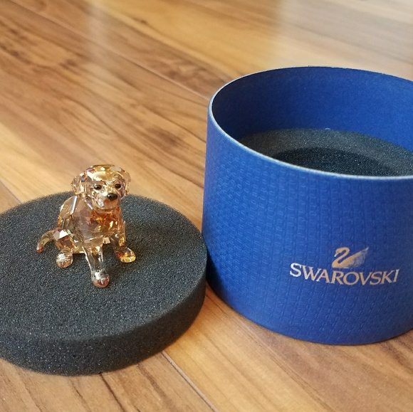 cd580e02b Swarovski Other   New Golden Retriever Sitting Dog 1142825   Poshmark
