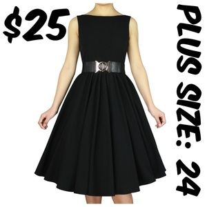 Dresses & Skirts - Pin Up Plus Size Dress Vintage Clothing Girl 1950s