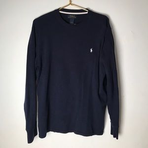 Ralph Lauren blue label men's thermal top