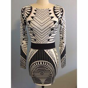 Celeb boutique aztec dress pictures