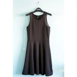 H&M | Polka Dot Mesh Skater Dress