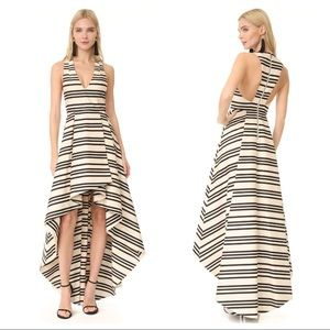 Alice + Olivia Striped Gown