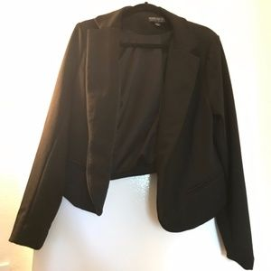 Plus Size Black Blazer
