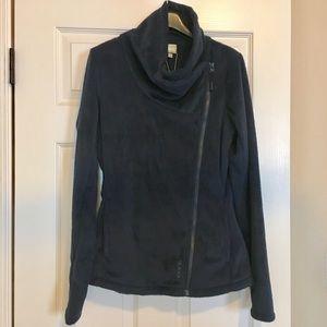NWT Bench fleece jacket Sz M dark blue