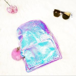 "Handbags - ✨NEW✨ ""Amphitrite"" Rainbow Mermaid Scale Backpack"