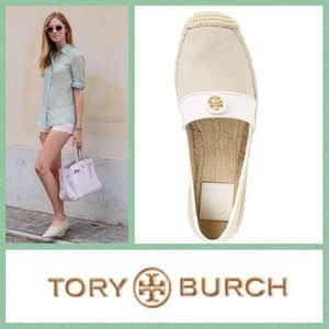 NEAR-PERFECT!  Tory Burch 'Lacey' Espadrille flats
