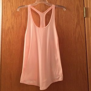Pale pink under Armour tank