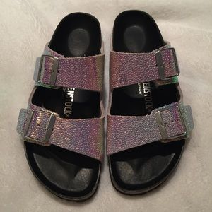 748848e8ec3 Birkenstock Shoes - Arizona Lux Pearl Ombré Birkenstocks