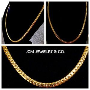 "Other - 14K Gold Plated 26"" x 4MM Miami Cuban Necklace"