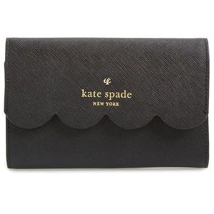 ‼️FINAL PRICE Kate Spade Leather Scallop Wallet