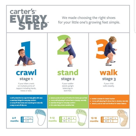 Carter S Every Step Stage Shoes