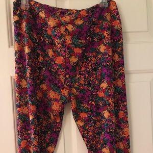 Pants - Lularoe tc floral