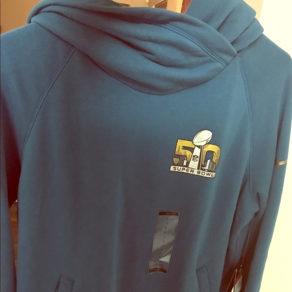 Super Bowl 50 Carolina Panthers Nike hoodie 012ea0d81