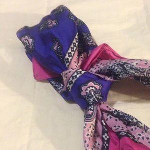 J crew Italian silk scarf