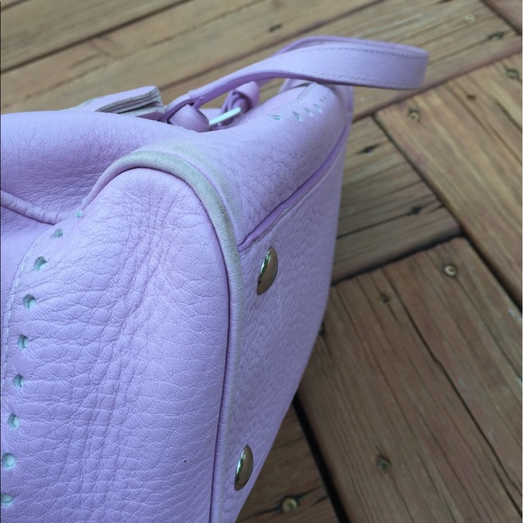 Coach Bags - Coach Purse, Lavender pebbled leather - rare!