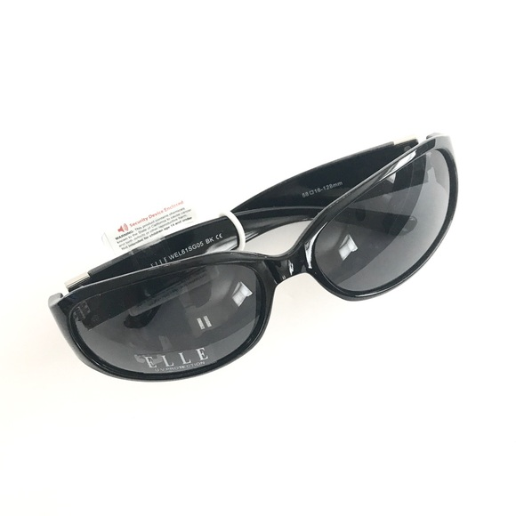 7b4b79f3ce NWT ELLE Black Sunglasses