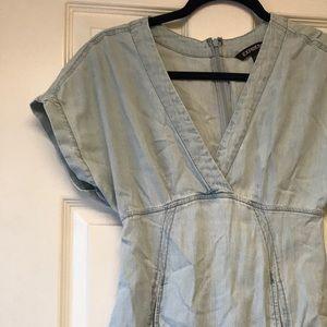 Express chambray dress