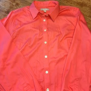 Banana Republic Non-Iron Fitted Button Up