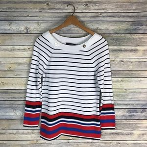 Brooks Brothers Nautical Striped Sweater
