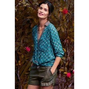 anthropologie • maeve • casia henley blouse • 2