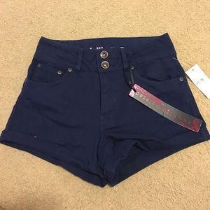 NWT Navy Blue High Waisted Shorts