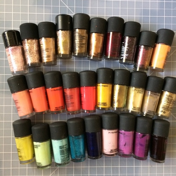 MAC Cosmetics Makeup | Mac Nail Polish 29 Colors Part 2 | Poshmark