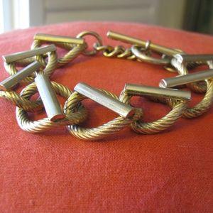 Vintage link bracelet so fab!
